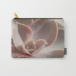 Pink Echeveria #3 Carry-All Pouch
