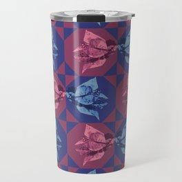 Bugambilia Texture Travel Mug
