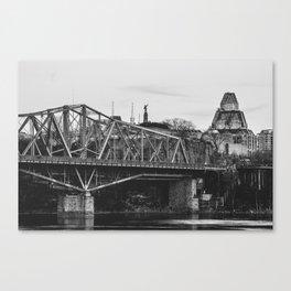Ottawa Landmarks Canvas Print