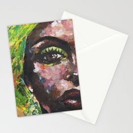 Brown Study Stationery Cards