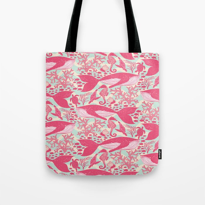 Whales - Under the Surface Tote Bag