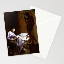 Joseph Wright of Derby Penelope Unraveling Her Web Stationery Cards