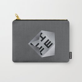 Life Unfolds Itself Carry-All Pouch