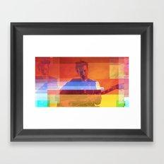 Bradford Cox   Project L0̷SS   Framed Art Print