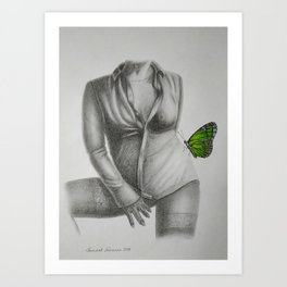 Allurement Art Print