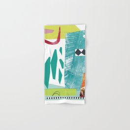 Moving Parts Collage Hand & Bath Towel