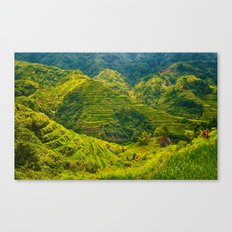 Banaue Rice Terraces Philippines Canvas Print