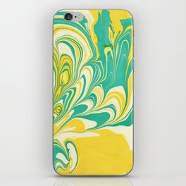 Painting in water iPhone Skin