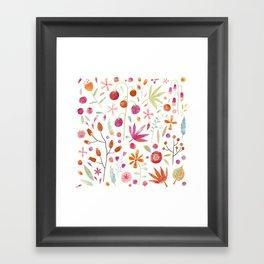 Last of the Crop Framed Art Print