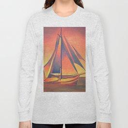 Sienna Sails at Sunset Long Sleeve T-shirt