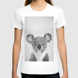Baby Koala - Black & White T-shirt