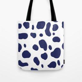 Cobalt Feline Tote Bag