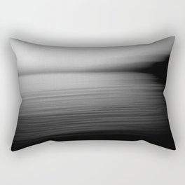 Flow (B&W) Rectangular Pillow