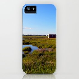 Marshy Meadows iPhone Case