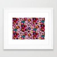disco Framed Art Prints featuring Disco by Joke Vermeer