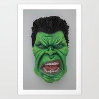 Brutal Force Art Print