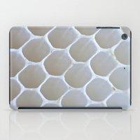 honeycomb iPad Cases featuring Honeycomb by Ian Bevington