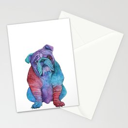 Ben's Bulldog Stationery Cards