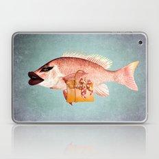Fish Chick Laptop & iPad Skin