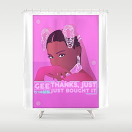 Gee, thanks, just bought it. Shower Curtain