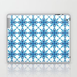Sky Blue Tiles Laptop & iPad Skin
