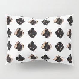 Black and gold diamond pattern Pillow Sham