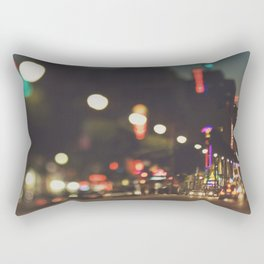 Hollywood Boulevard. Los Angeles Rectangular Pillow