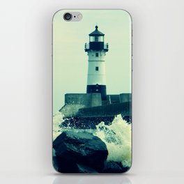 Breakwater Lighthouse - 2 iPhone Skin