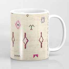 A39 Original Traditional Anthropologie Moroccan Texture. Coffee Mug