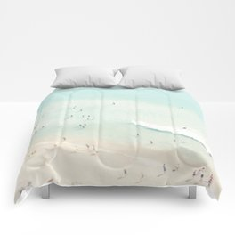 beach summer fun Comforters