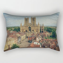 Lincoln Cathedral Rectangular Pillow