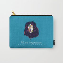 We are Vegetarians Carry-All Pouch