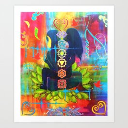 Sacred Space Art Print