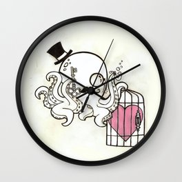 Capture My Heart Wall Clock
