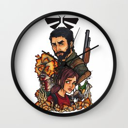 The Last of Us Wall Clock