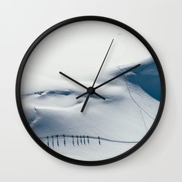 Mountain trace  Wall Clock