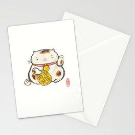 Maneki Neko [Special Lucky Toy Box] Stationery Cards