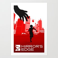 Mirror's Edge Art Print