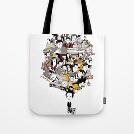 Quentin´s World Tote Bag