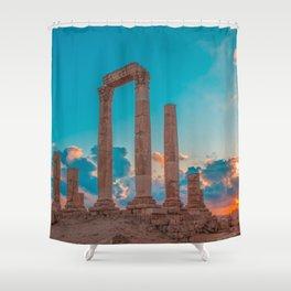 Hercules Temple Shower Curtain