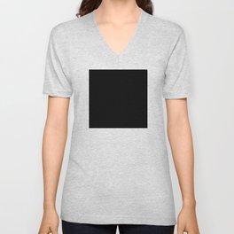 Minimalist Black Square Unisex V-Neck