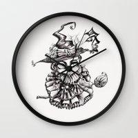 oz Wall Clocks featuring Oz by artlandofme