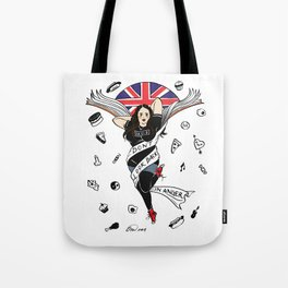 My Mad Fat Diary Oasis Rae Pin-up Tote Bag