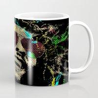 reggae Mugs featuring Under the reggae mode by alfboc
