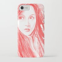 blood iPhone & iPod Cases featuring Blood by denzmoon