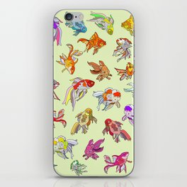 Fish Swimming in Sea iPhone Skin