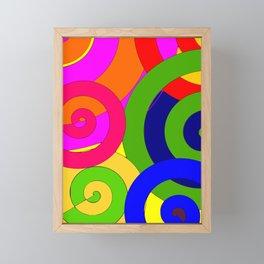 Psyco solid Framed Mini Art Print