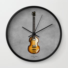 Violin Bass 1962 Wall Clock