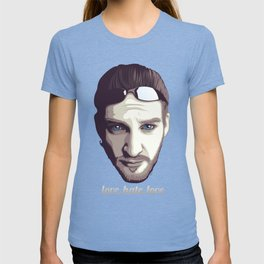 love, hate, love T-shirt