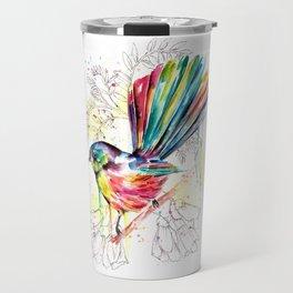 Vibrant Fantail Travel Mug